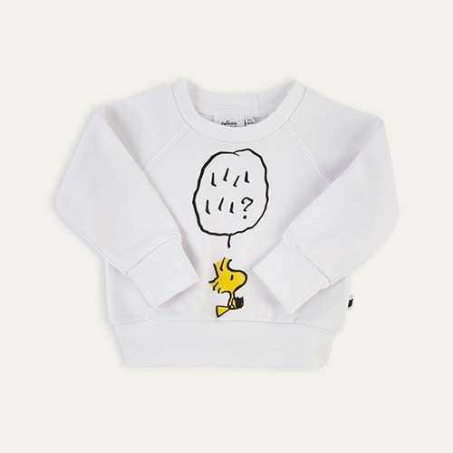 White tobias & the bear Woodstock Sweatshirt