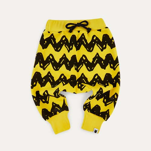 Yellow tobias & the bear Charlie Brown Joggers