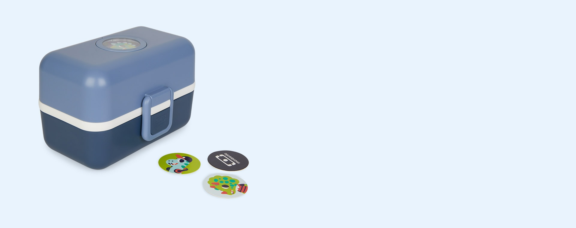 Blue Infinity monbento Tresor Kids Bento Box