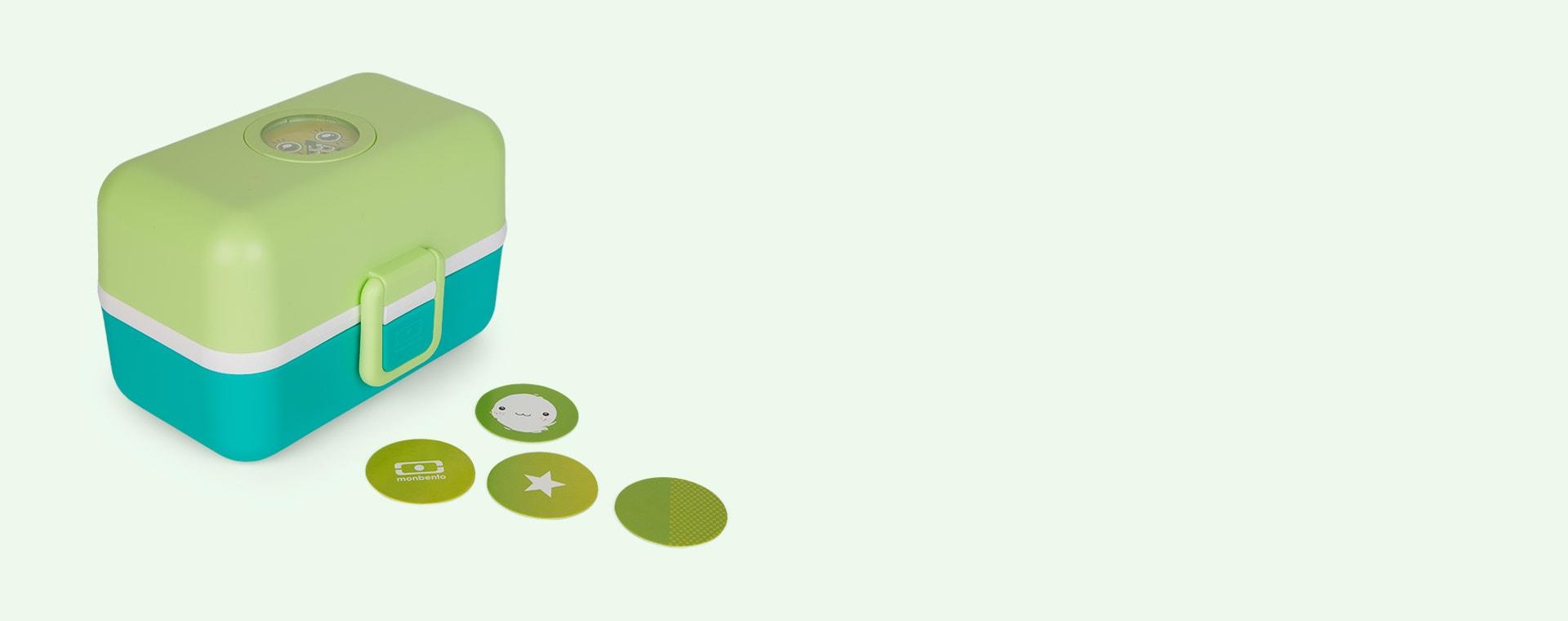 Green Apple monbento Tresor Kids Bento Box