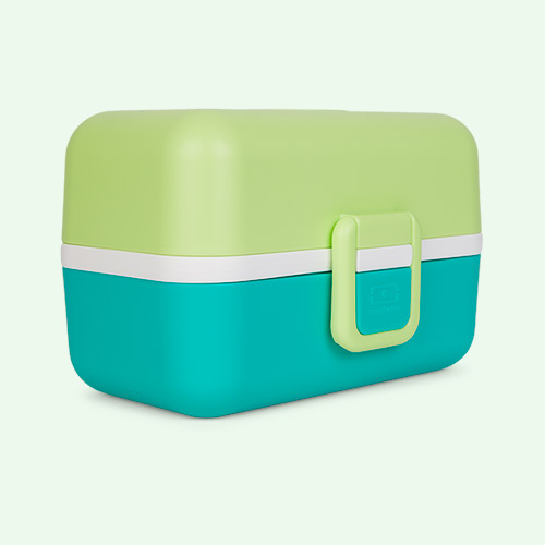 Green Apple monbento Tresor Kids Bento Box