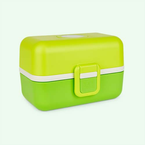 Lime monbento Tresor Kids Bento Box
