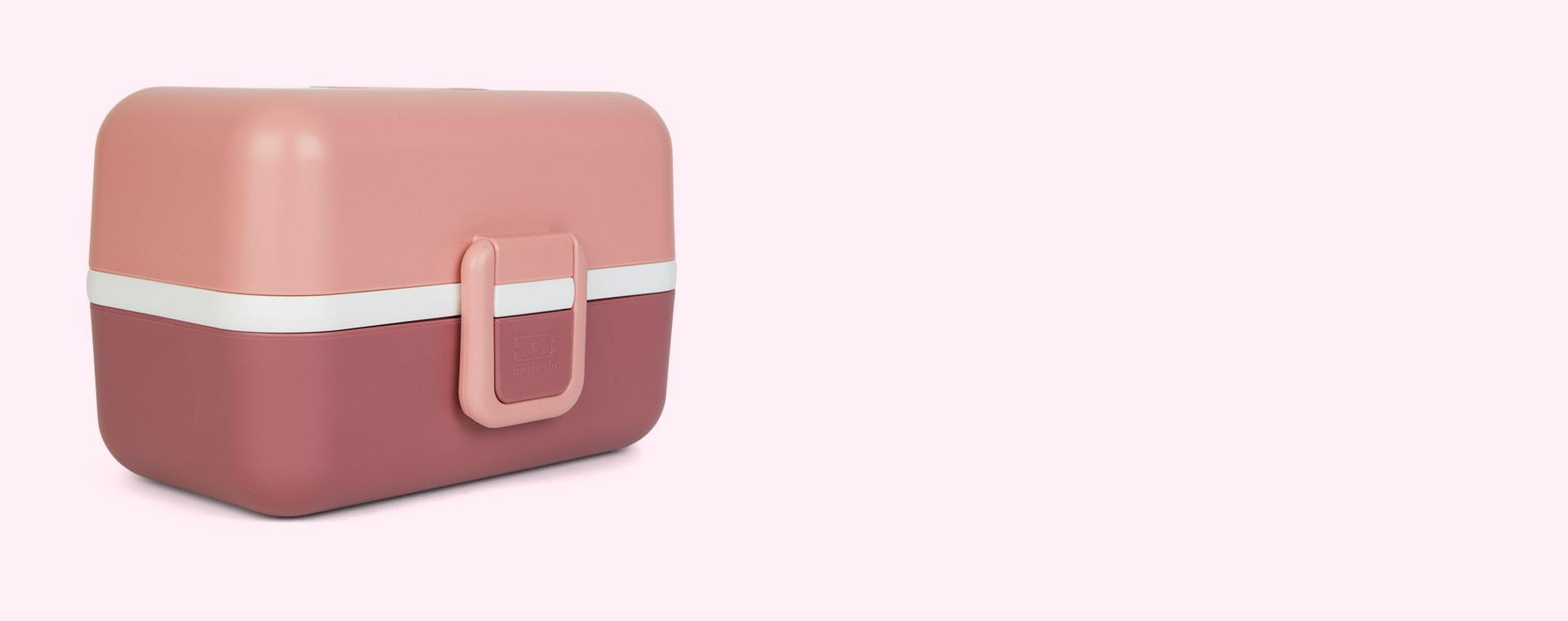 Pink Blush monbento Tresor Kids Bento Box