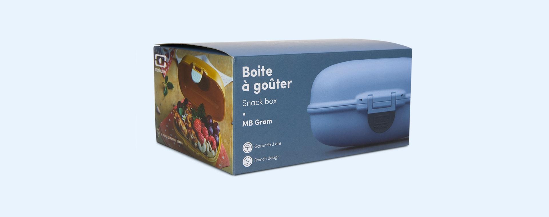 Blue Infinity monbento Gram Snack Box