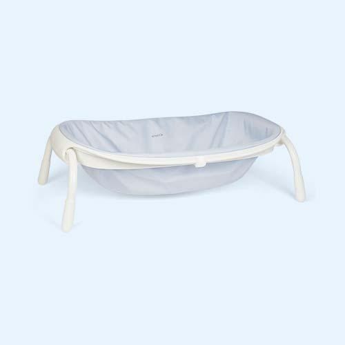 Blue Beaba Compact Foldable Bath
