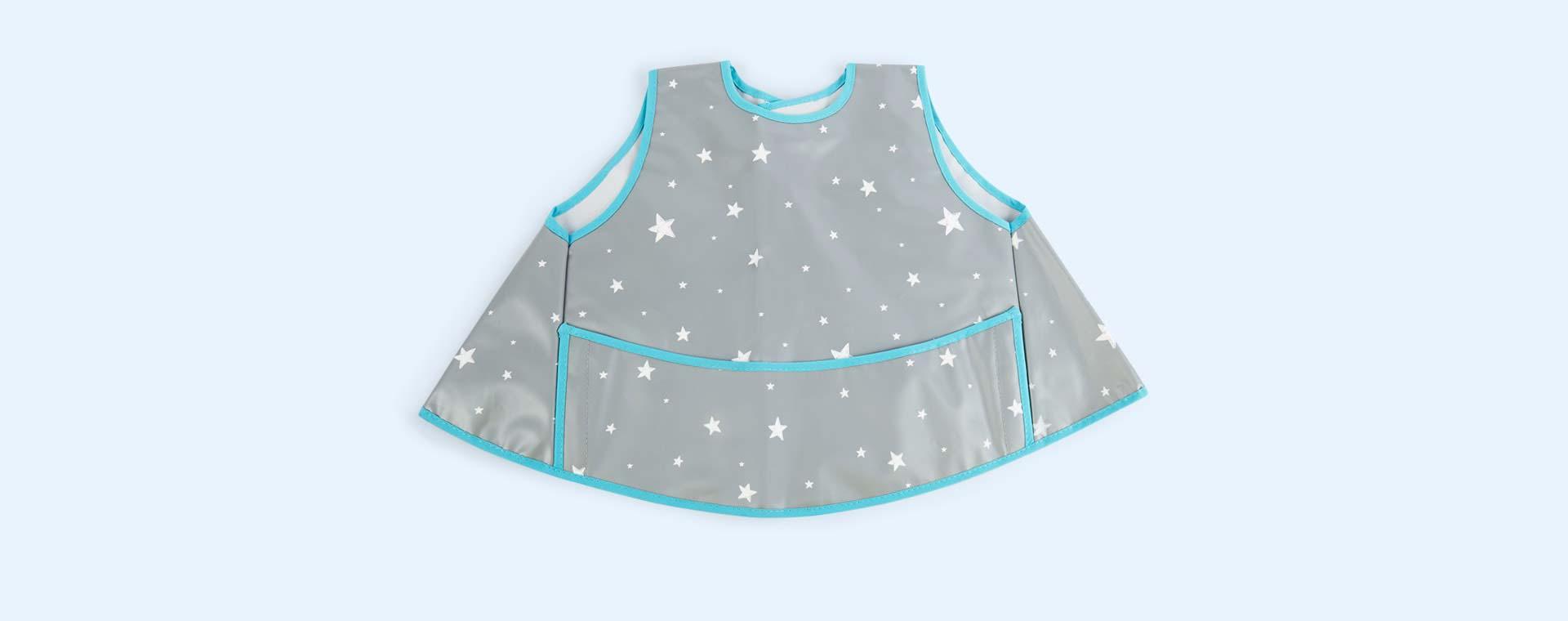 Grey Stars Minene Bib