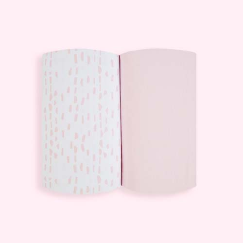 Rose Wave Snuz Crib Fitted Sheets - 2 Pack