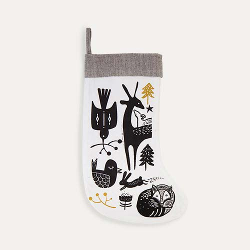 Winter Animals Wee Gallery Christmas Stocking