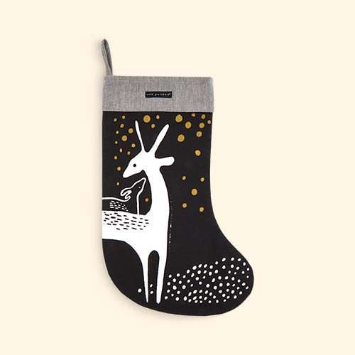 Deer Wee Gallery Christmas Stocking