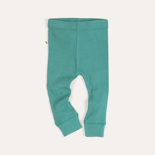 Green KIDLY Label Legging