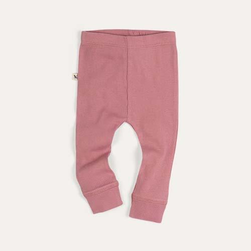 Pink KIDLY Label Legging