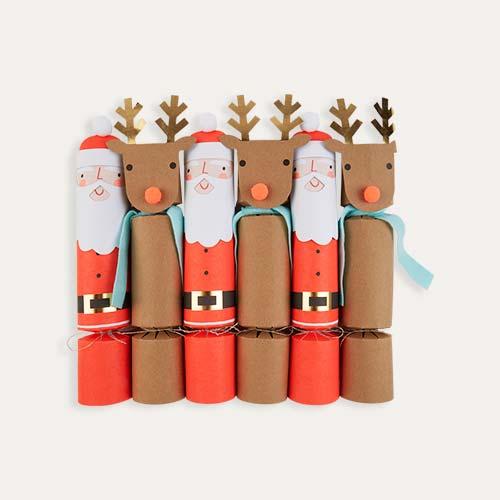 Red Meri Meri Santa Reindeer Crackers