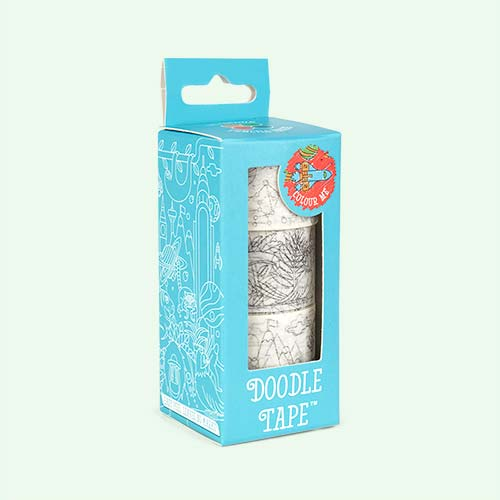 Clear Luckies of London Doodle Tape