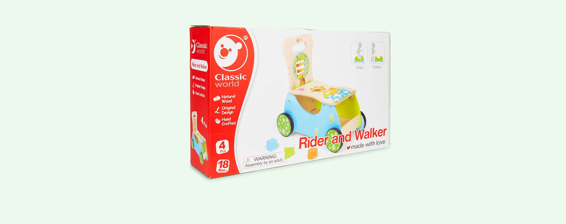 Multi Classic World Rider Walker