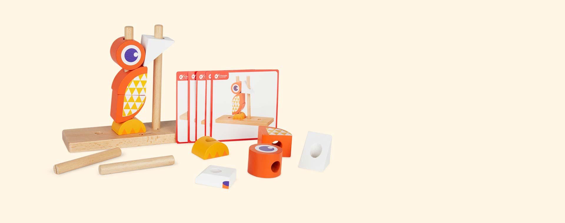 Orange Classic World Fox Block Set