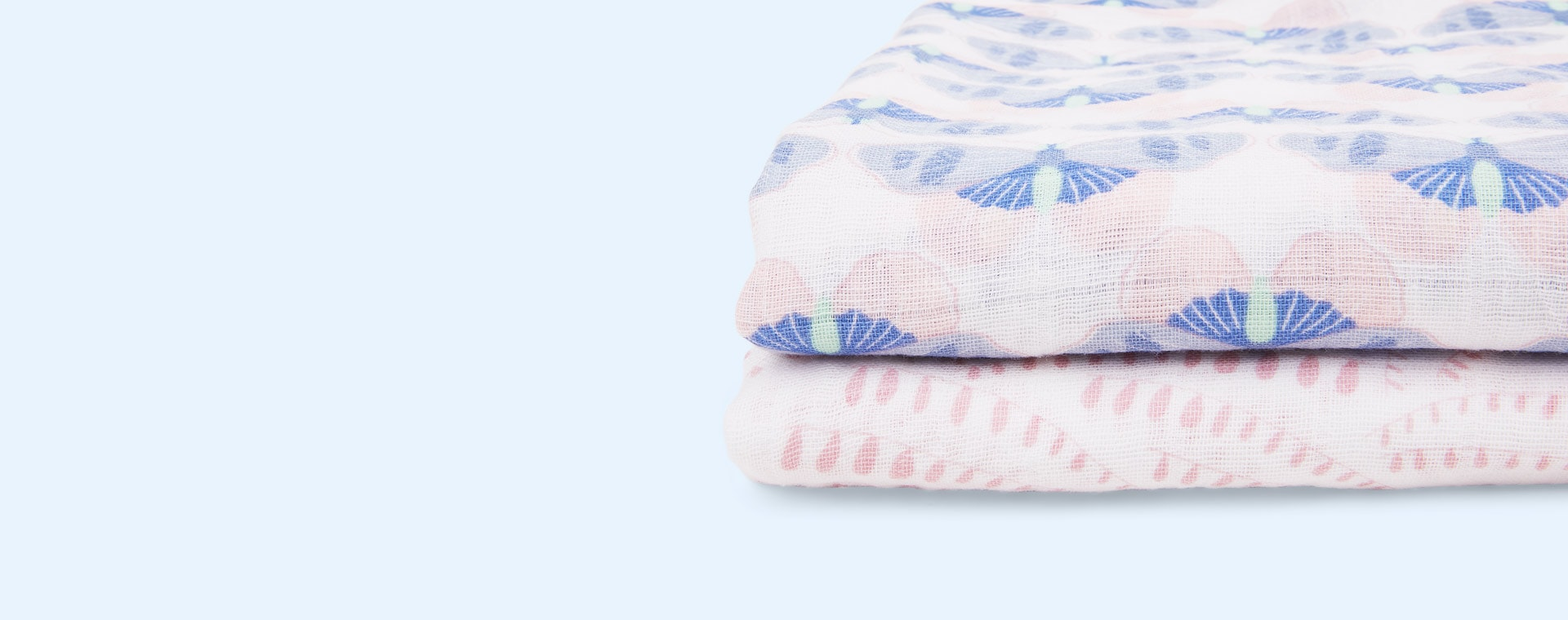 Deco aden + anais 2 Pack Classic Swaddle Blanket