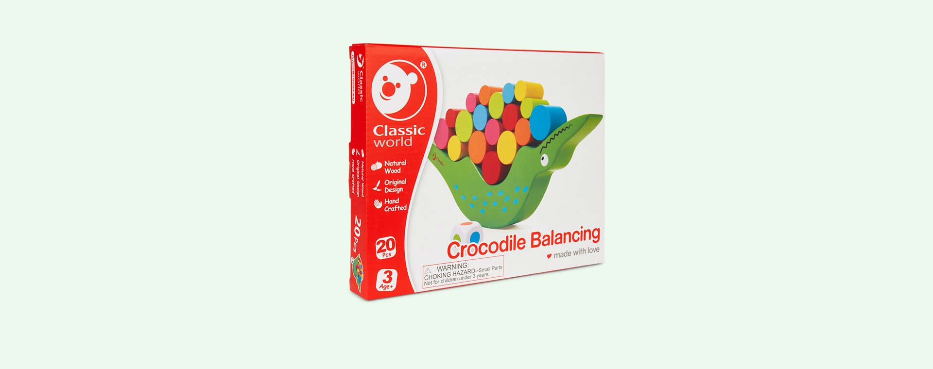 Multi Classic World Crocodile Balancing Game