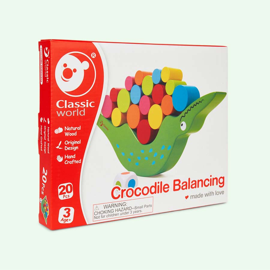 Multi Classic World Crocodile Balancing Game