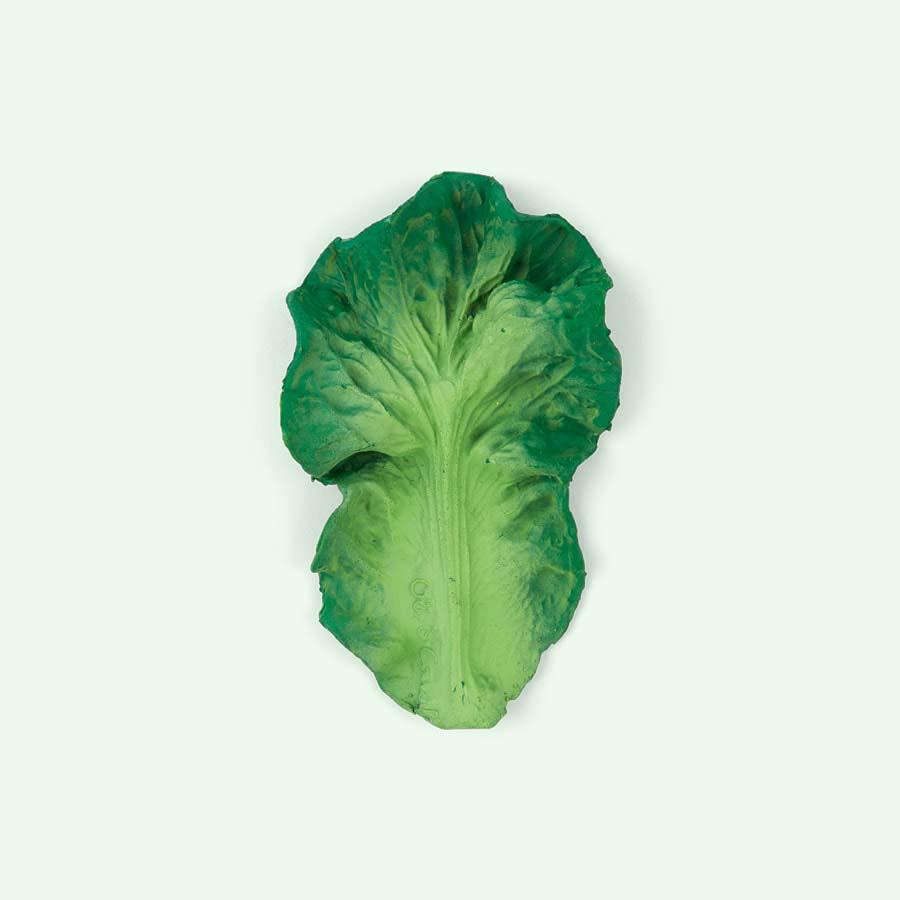 Green Oli & Carol Kendall the Kale Teether