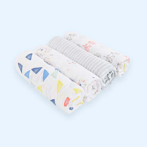 Leader of the Pack aden + anais 4 Pack Classic Swaddle Blanket
