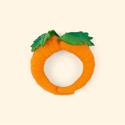 Orange Oli & Carol Cathy the Carrot Teether & Bath Toy