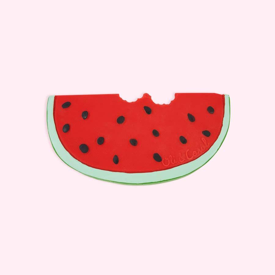 Red Oli & Carol Wally the Watermelon Teether
