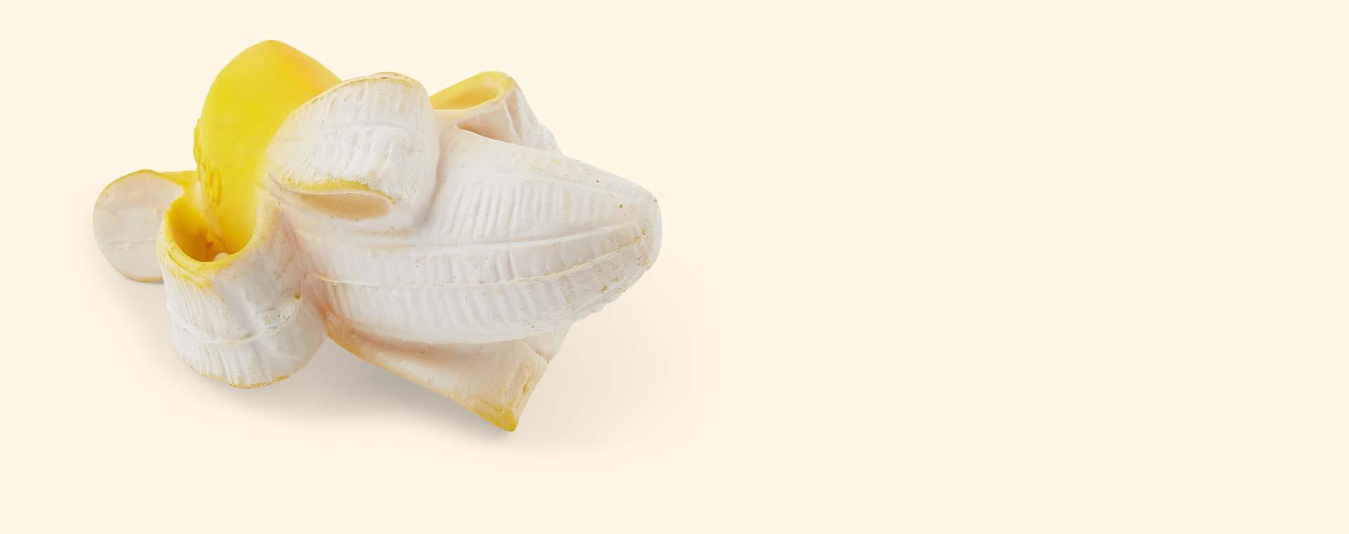 Yellow Oli & Carol Ana Banana Teether