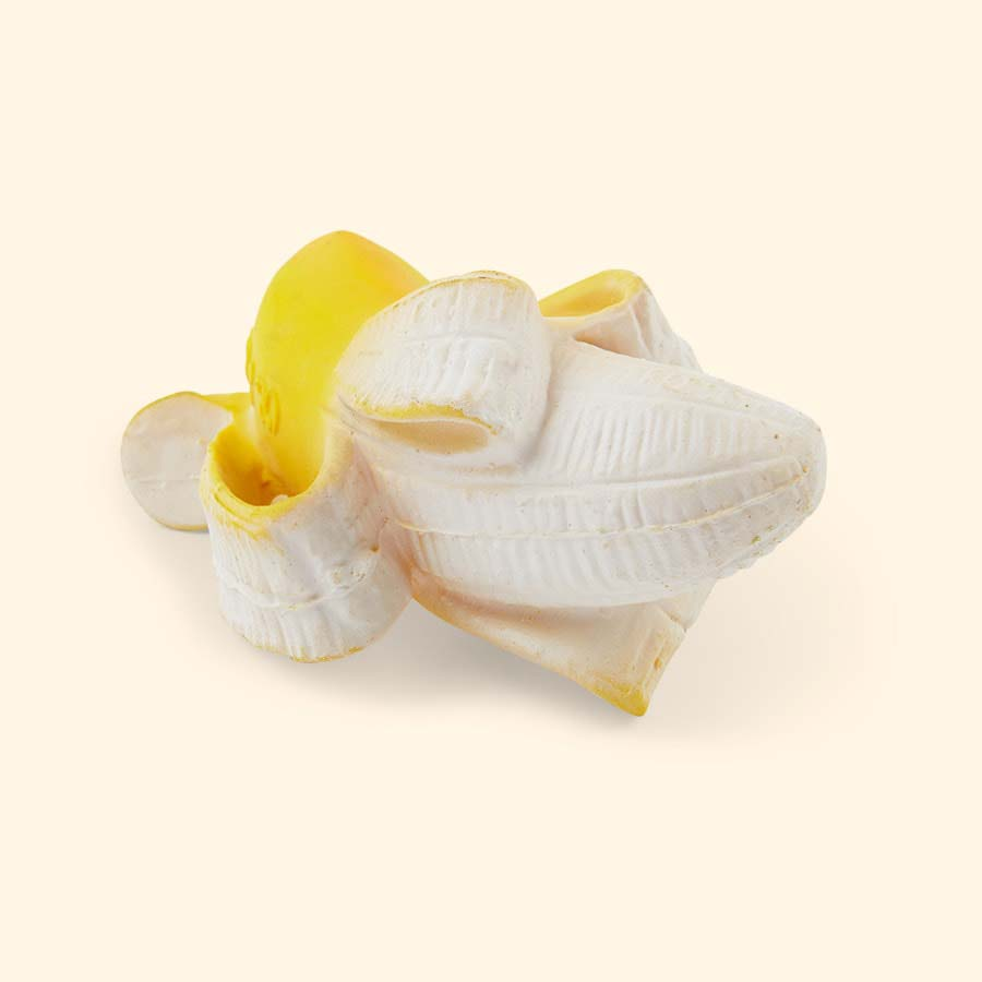 Yellow Oli & Carol Ana Banana Teether