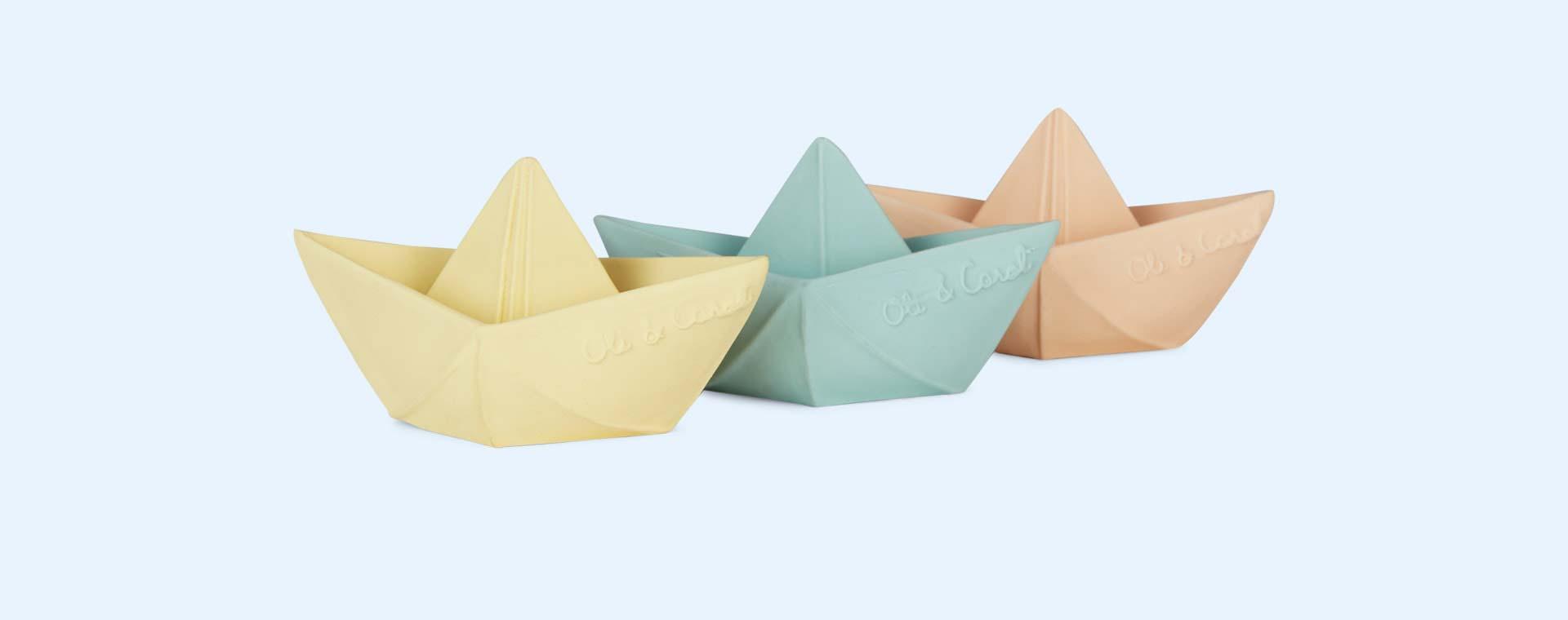 Mint Oli & Carol Origami Boat Bath Toy