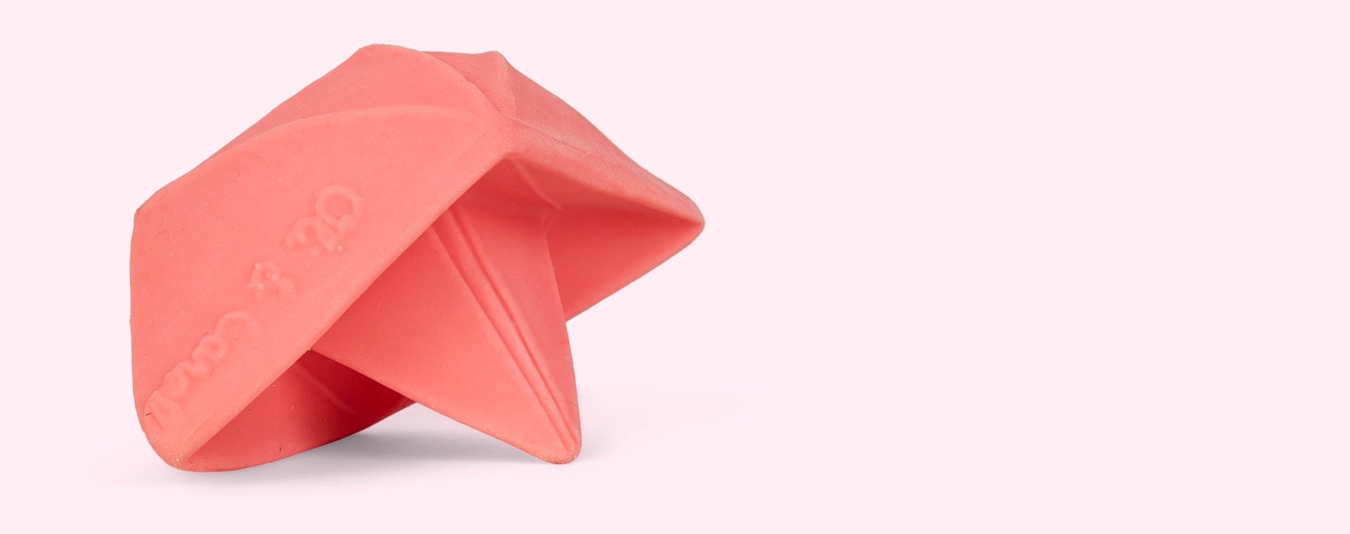 Pink Oli & Carol Origami Boat Bath Toy
