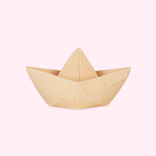 Nude Oli & Carol Origami Boat Bath Toy