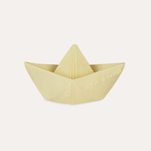 Vanilla Oli & Carol Origami Boat Bath Toy