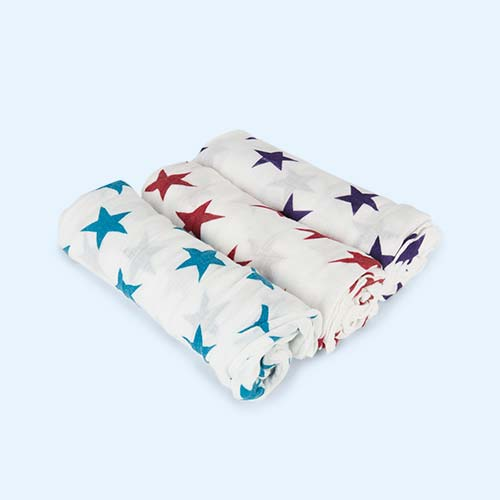 Celebration aden + anais Bamboo Swaddle Blankets - 3 Pack