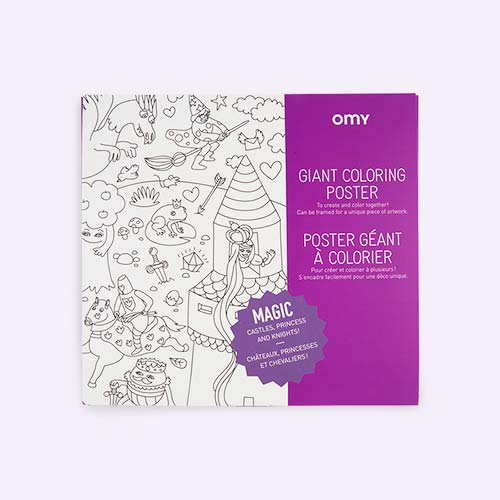Magic OMY DESIGN & PLAY Colouring Poster