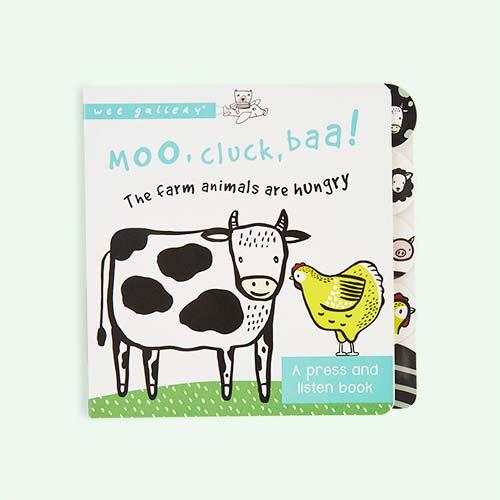 Multi Wee Gallery Moo Cluck Baa Book