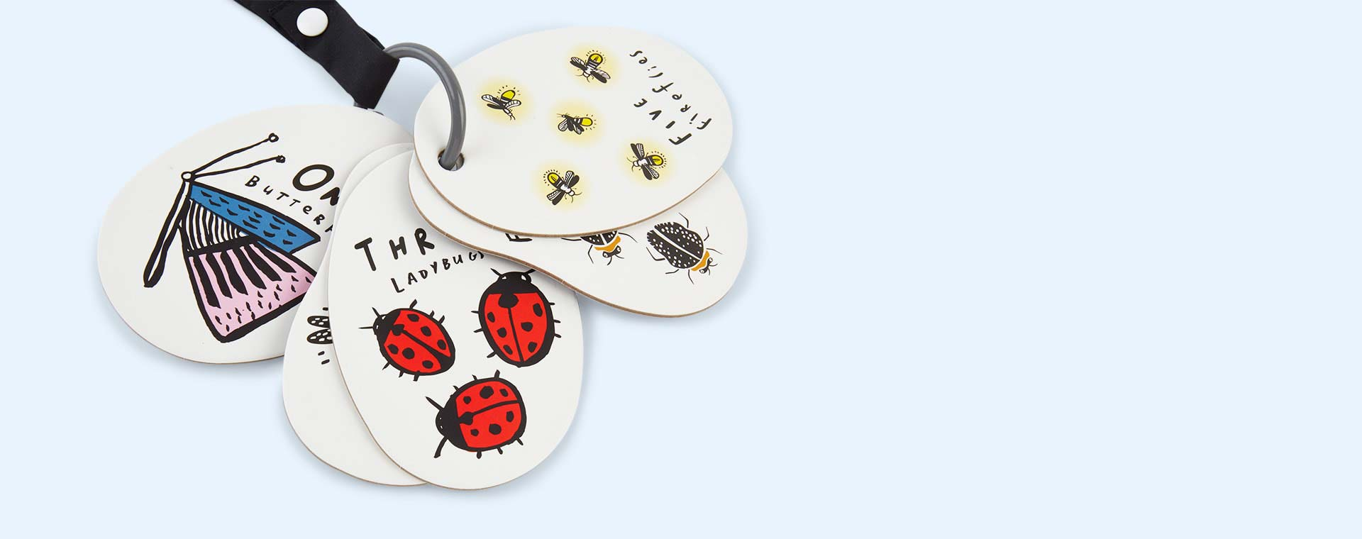 I See Bugs to Count Wee Gallery Stroller Cards