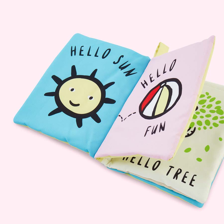 Multi Wee Gallery Hello You, Hello Me Soft Book