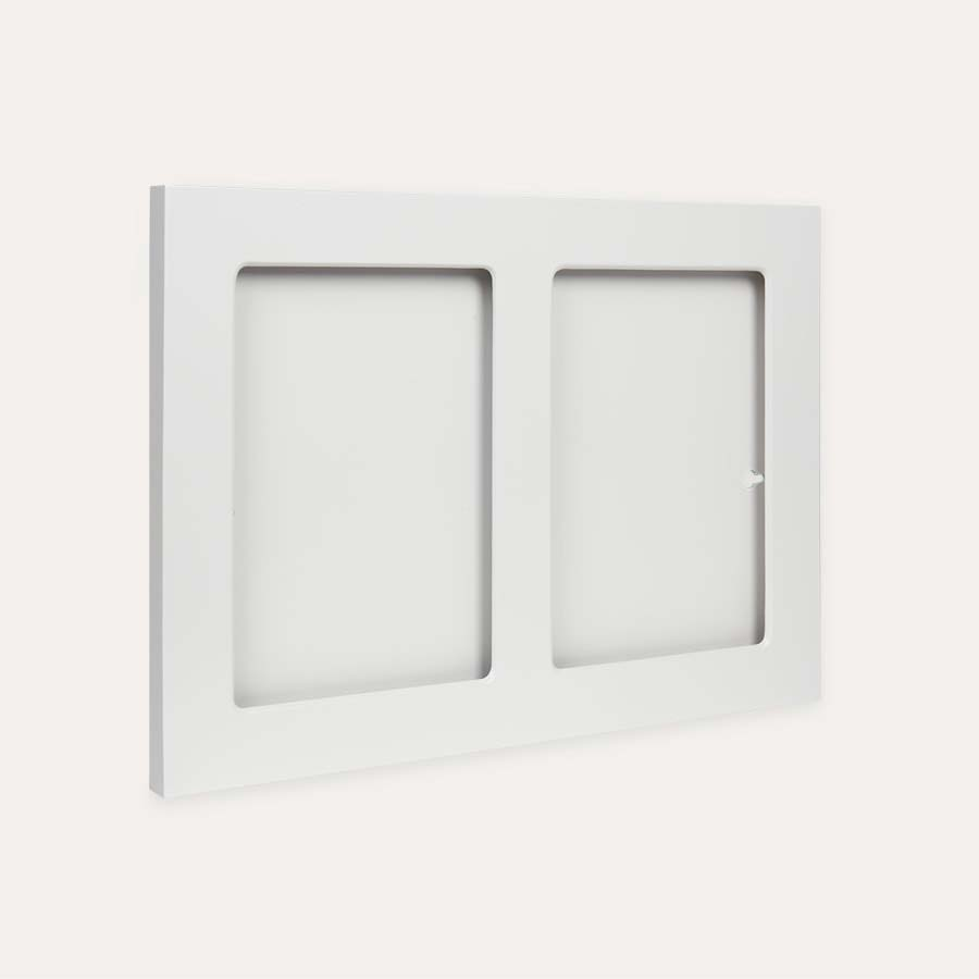 White The Articulate Gallery A4 Double Frame