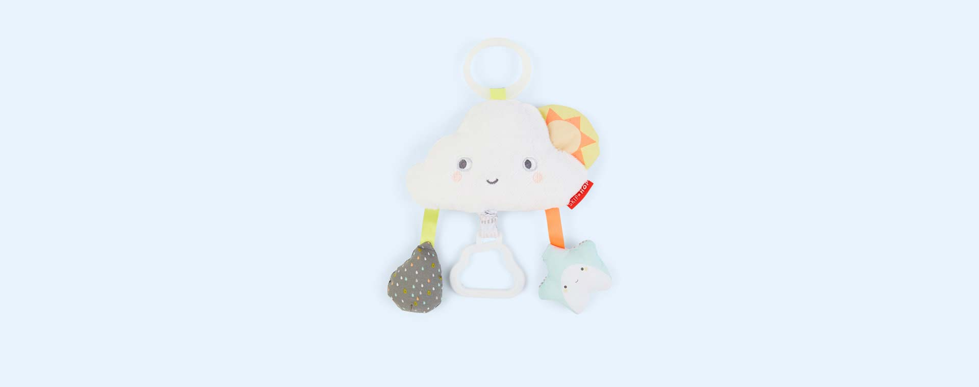 Cloud Skip Hop Silver Lining Cloud Jitter Stroller Baby Toy