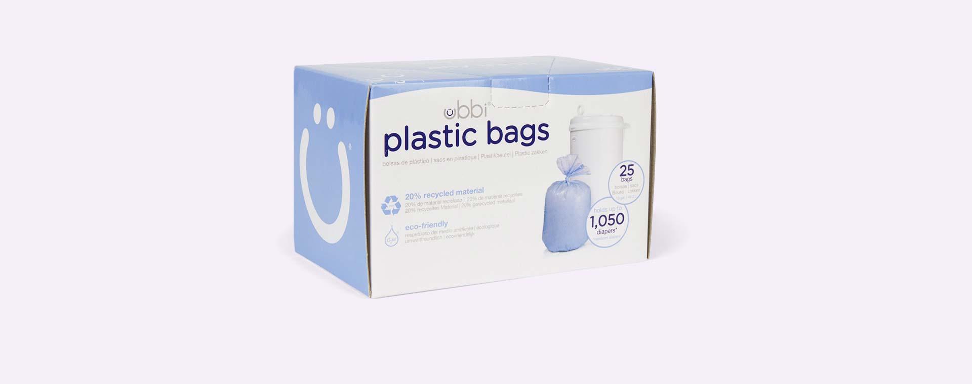 Purple ubbi Nappy Plastic Bags