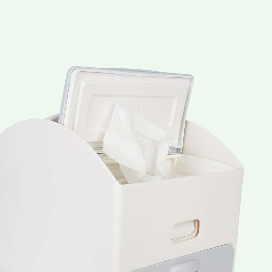 Grey ubbi Wipes Dispenser