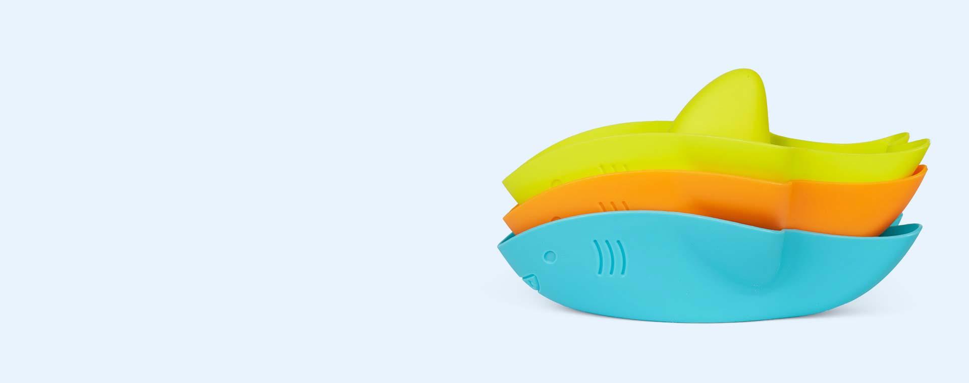 Sharks ubbi Stack and Splash Bath Toys