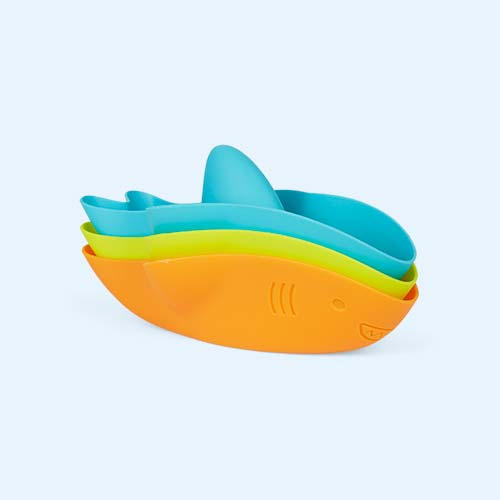 Sharks ubbi Stack and Splash Bath Toys