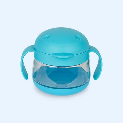 Blue ubbi Tweat Snack Container
