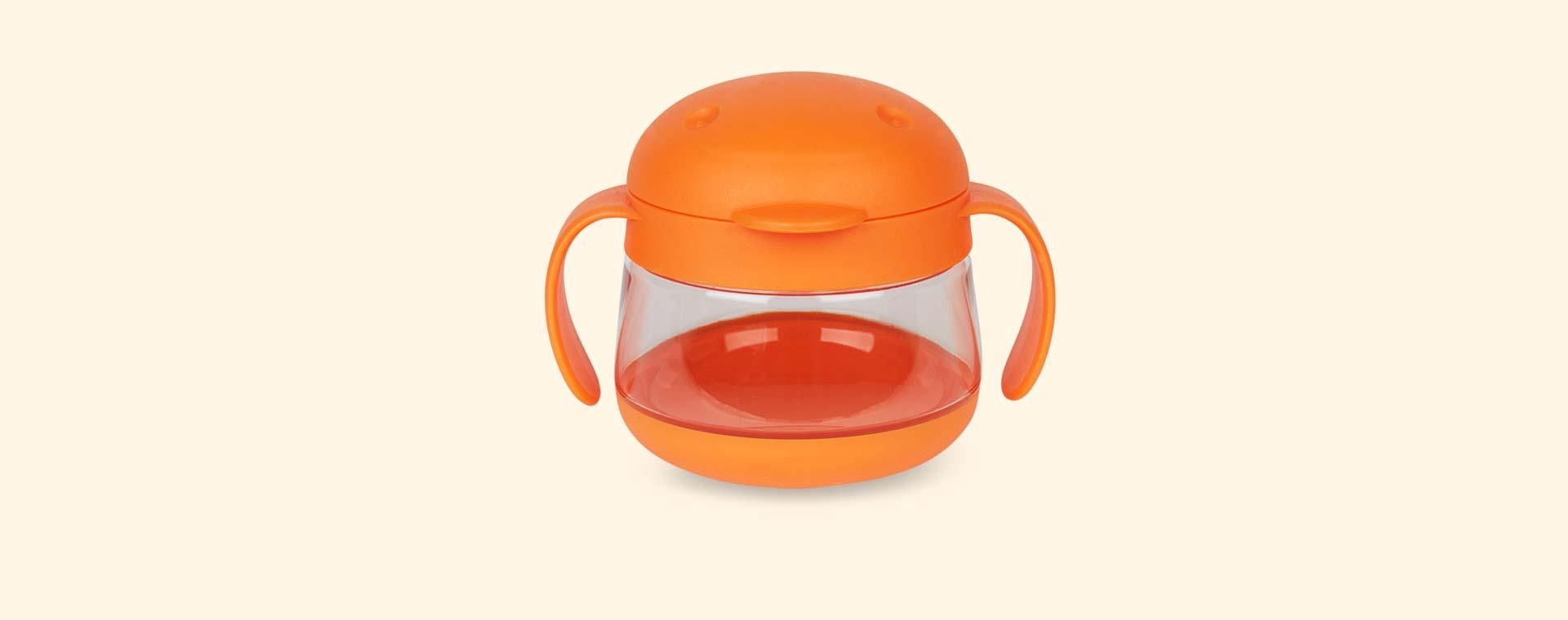 Orange ubbi Tweat Snack Container