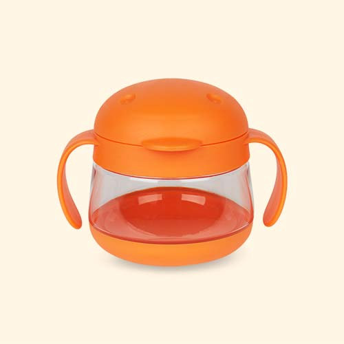 Orange ubbi Tweat Snack Container