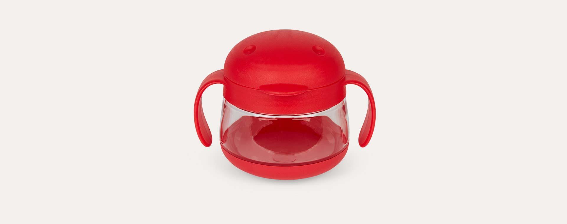 Red ubbi Tweat Snack Container
