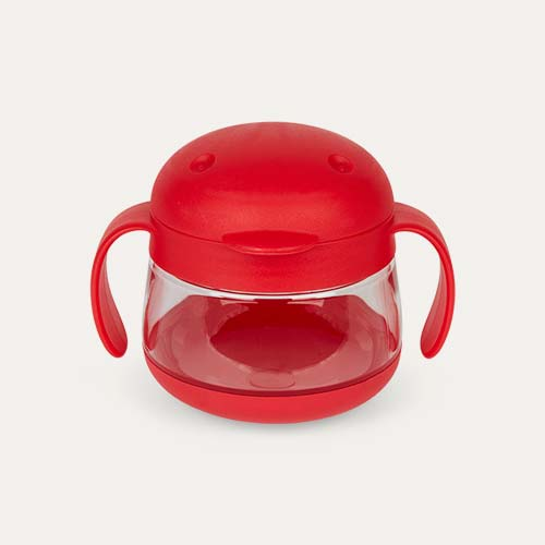 Red ubbi Tweat Snack Container
