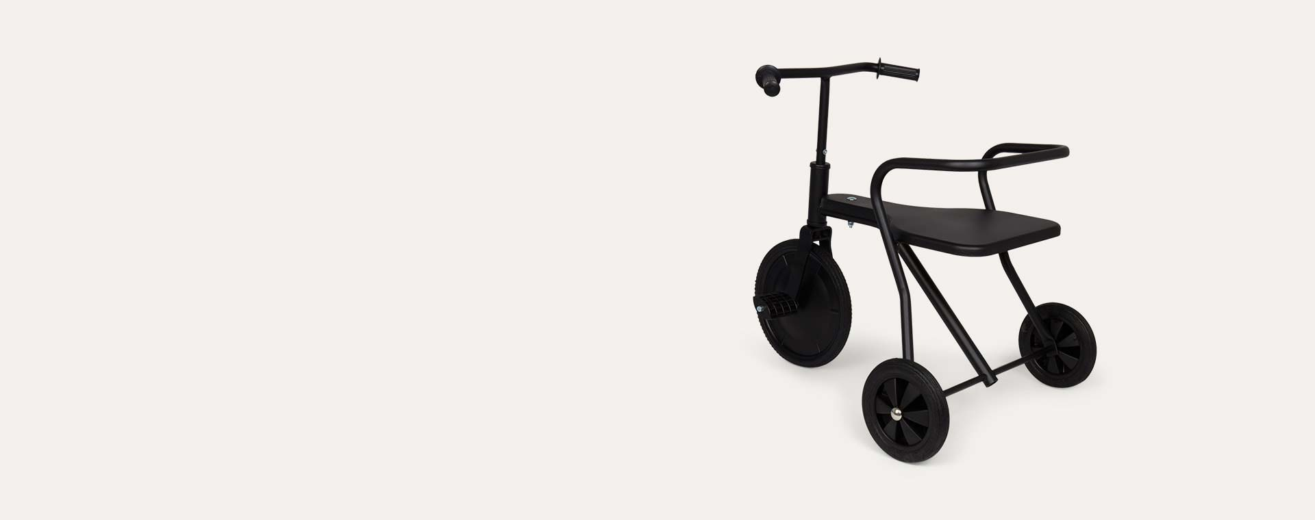 Black Foxrider Retro Tricycle