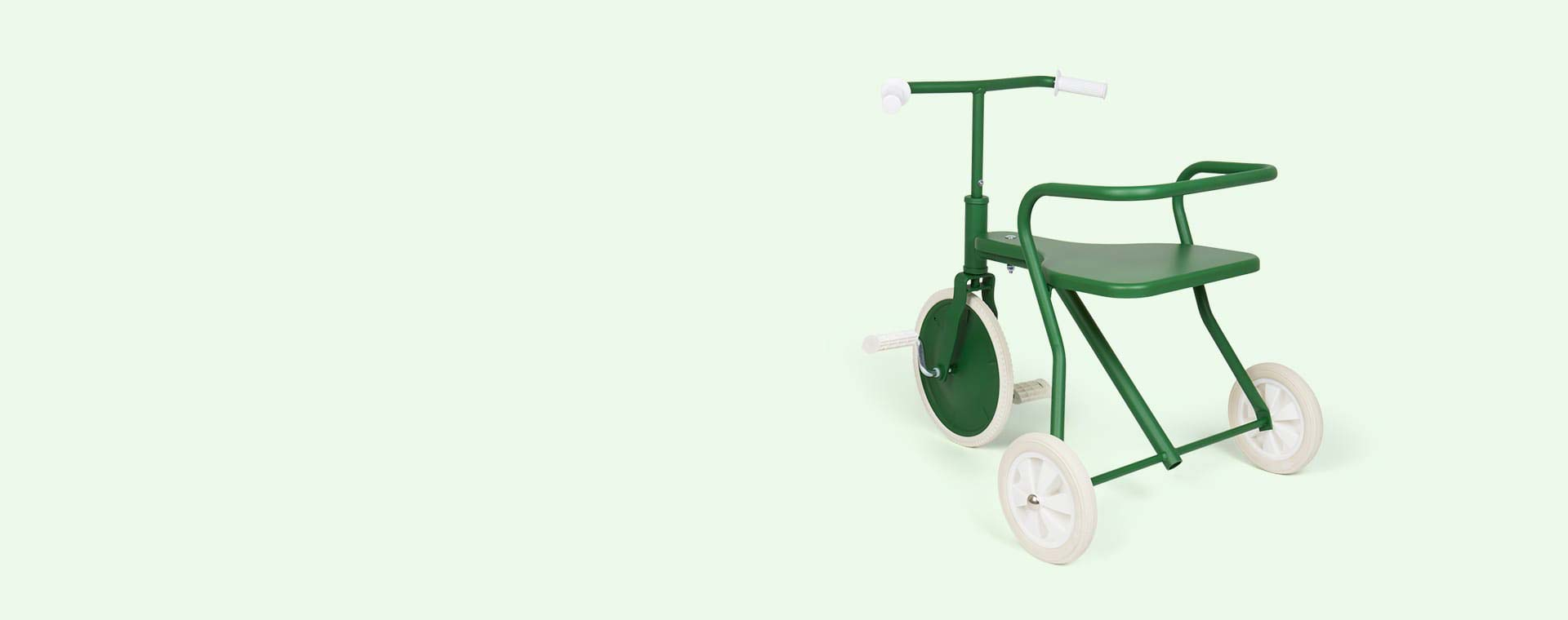 Green Foxrider Retro Tricycle